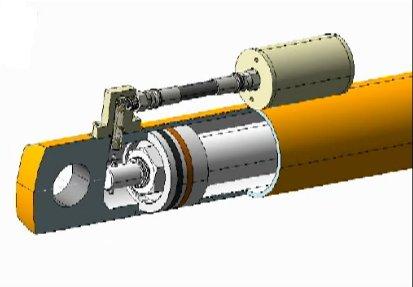Smart Hydraulic Cylinder Position Sensing