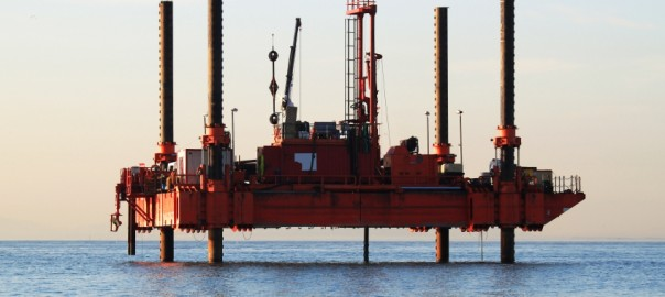 Offshore Drilling uses Long-Stroke Hydraulic Cylinders