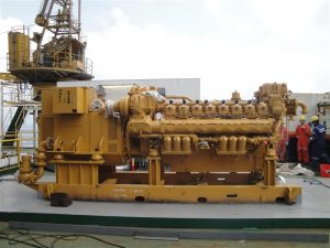 Genset for Oil Rig Uses CPI Start Switch