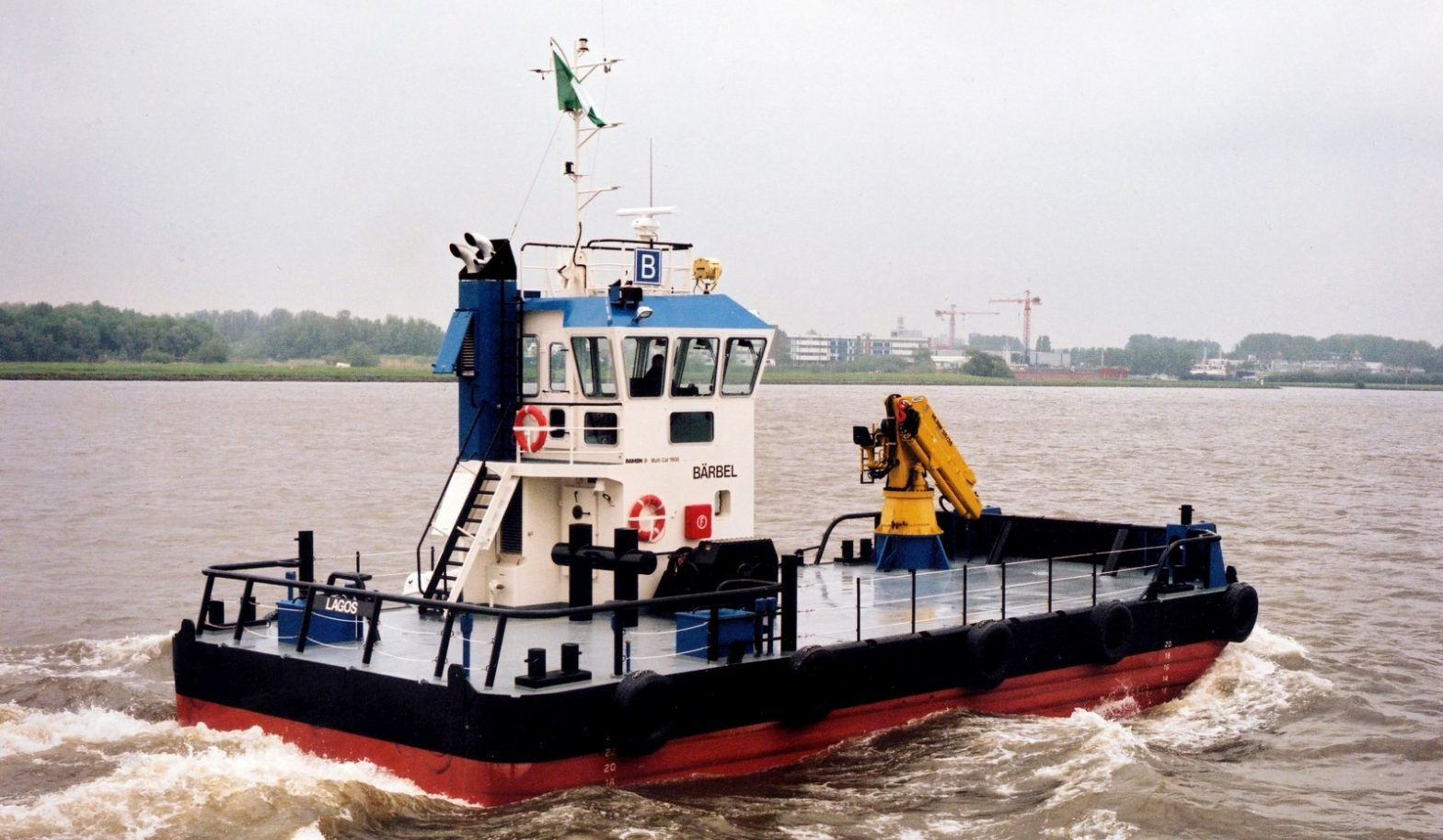 Marine Switches on a Workboat