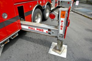 fire truck outrigger safety limit switch