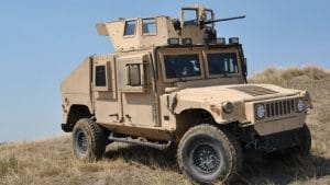 Marine HMMWV with Collapsing MCTAGS