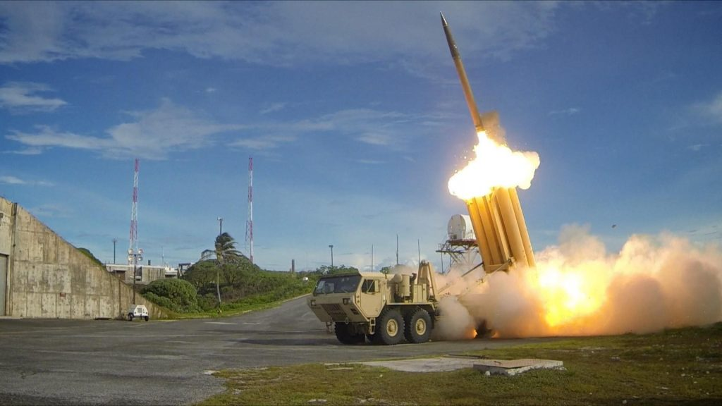 CPI Waterproof Pendant Switches on THAAD Missle Defense Launch Vehicle