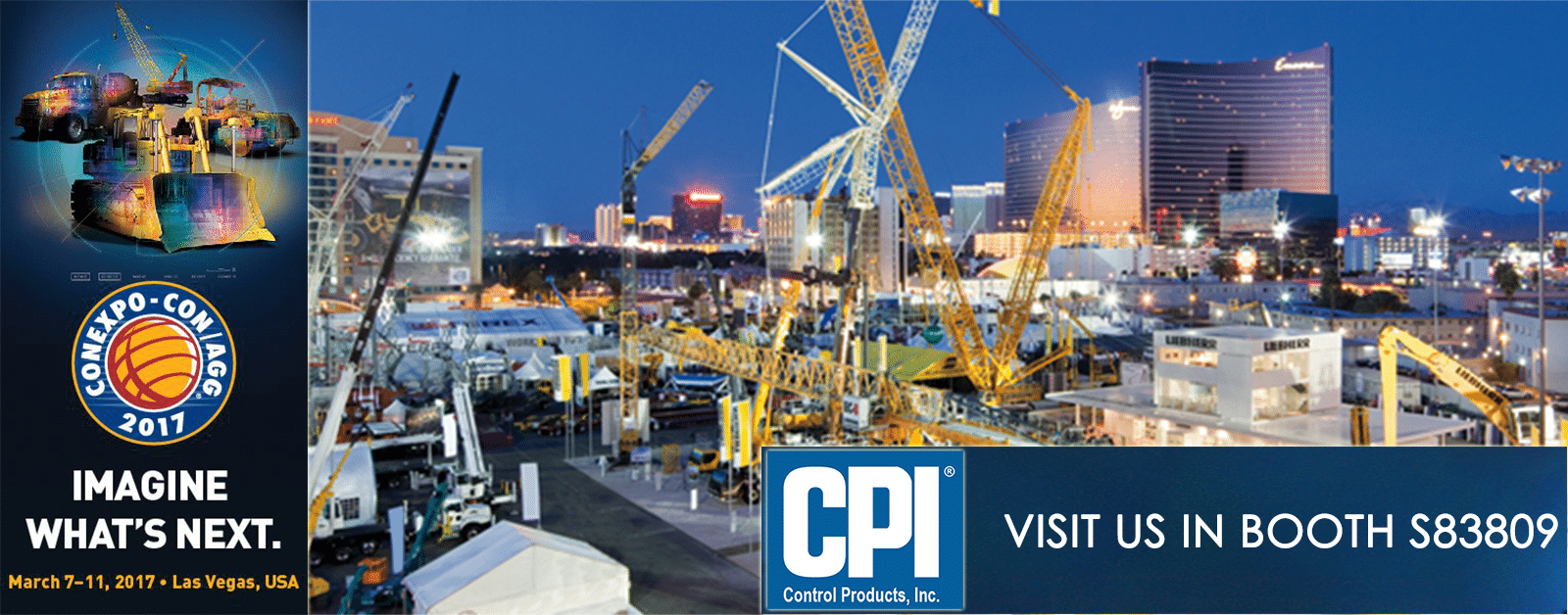 Meet CPI at CONEXPO Booth S83809