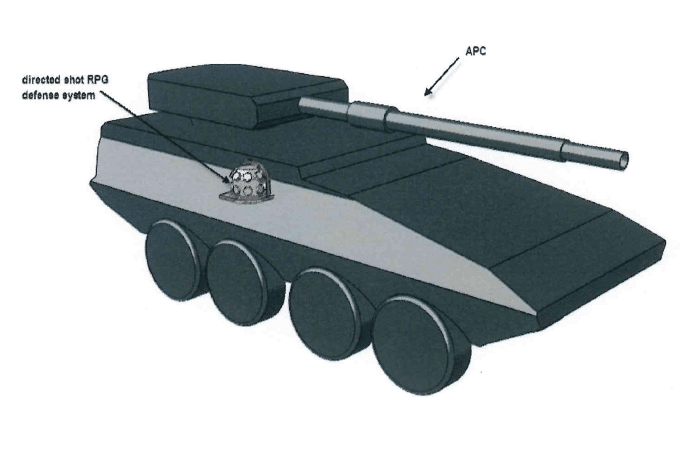CPI Announces Patent Approval For Active Protection System Against RPG's.