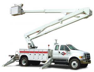 Versalift Bucket Truck using CPI Limit Switches