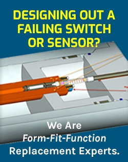 Designing out a failing switch