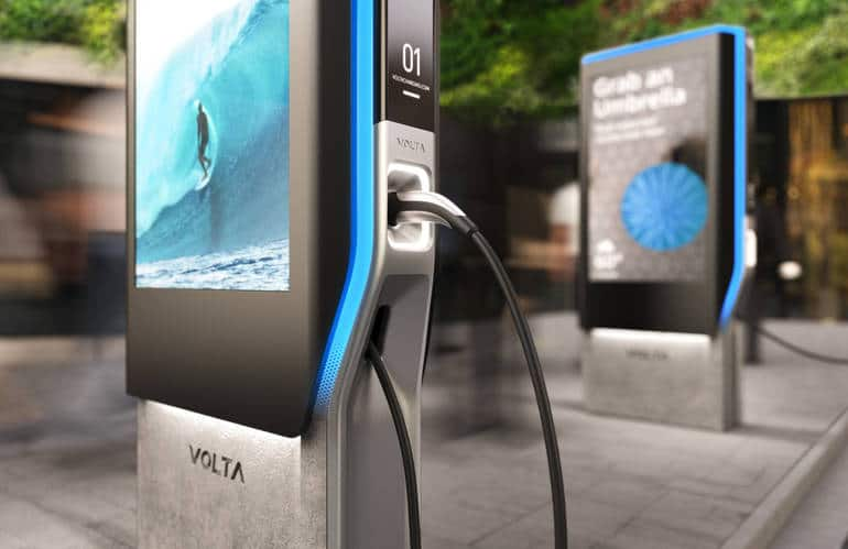 Volta EV Charging Station uses CPI Switches