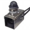 Waterproof pushbutton switch for military applications